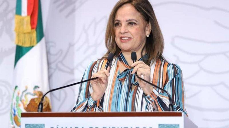 Lorena Villavicencio propone que nuevos consejeros del INE sean mujeres