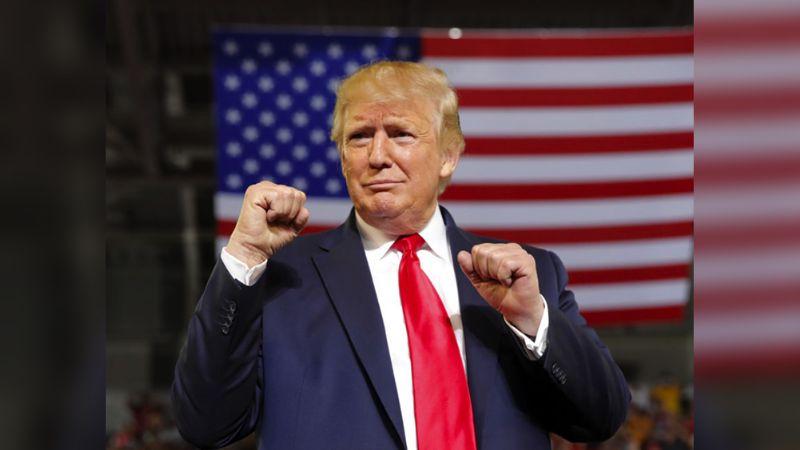 """Trump: """"Estamos haciendo ungran trabajo con el coronavirus en EU"""""""