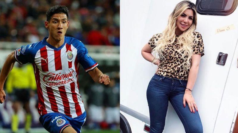 ¡Por infiel! Chivas castiga a Uriel Antuna tras coquetear con Paola Villalobos