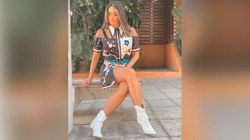 """Deliciosa"": Galilea Montijo cautiva al presumir su figura con vestido negro"