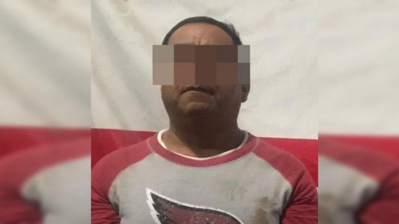 Asegura PESP a hombre homicida; tenía orden de aprehensión en Oaxaca