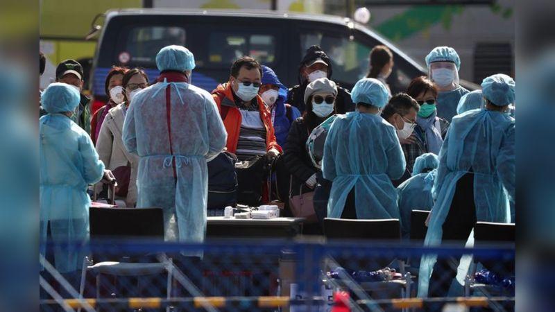Crucero con posibles enfermos de coronavirus podría llegar a México