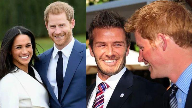 """Beckham humilla a Meghan y defiende a la Corona: """"Espero que Harry esté bien"""""""