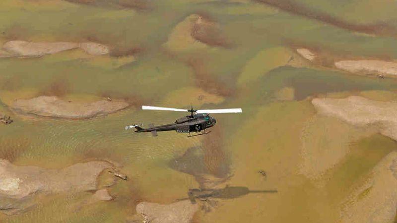 Caída de helicóptero deja tres muertos y dos heridos en Colombia
