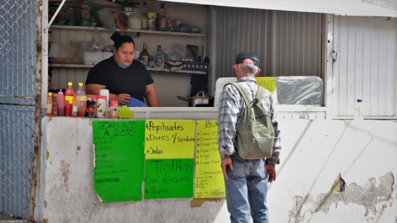 Comerciantes de Hermosillo respaldan el paro nacional 'Un Día Sin Mujeres'