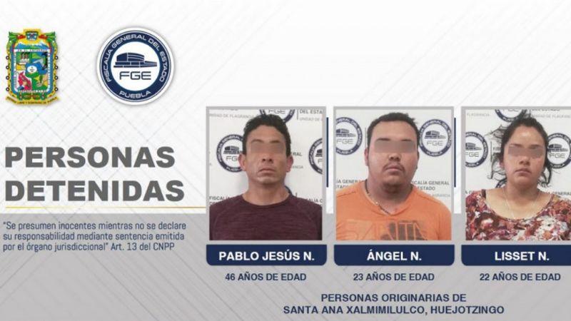 Liberan a presuntos asesinos de los 3 estudiantes en Puebla y los recapturan