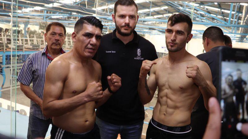 El 'Somer' Domínguez y el 'Bronco' Rosales superan la báscula