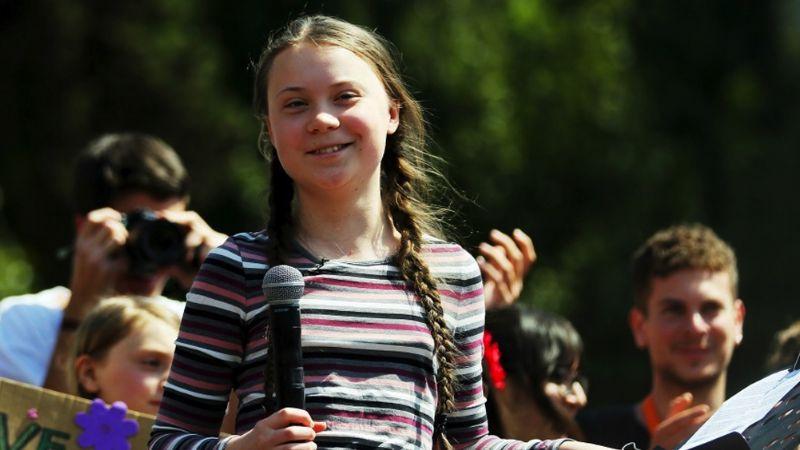"""""""Puras promesas y nada cambia"""": Greta Thunberg contra líderes mundiales"""