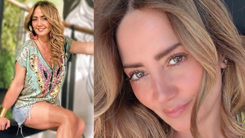 ¡Lo enseñó todo! Andrea Legarreta se exhibe en bikini y calienta Instagram