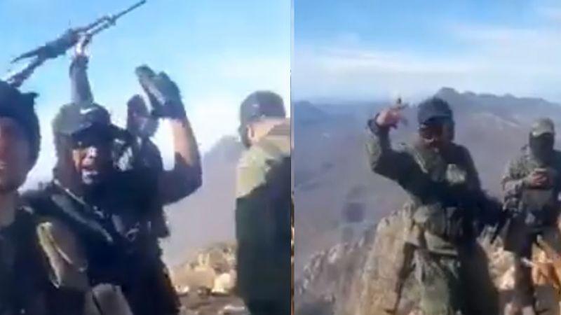 """(VIDEO) """"Venimos con los hue... bien puestos"""": CJNG llega a La Laja"""