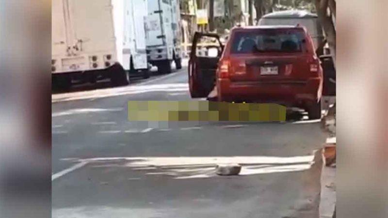 Fuerte balacera en CDMX deja como saldo 3 muertos y un lesionado