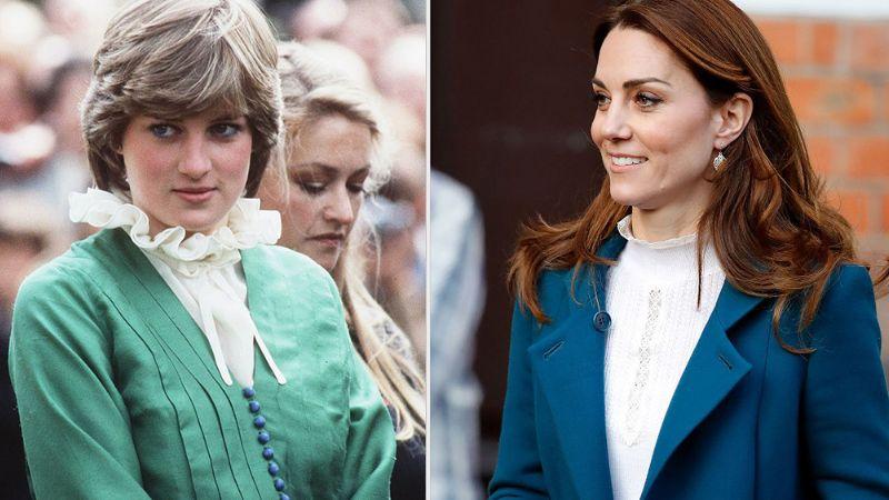 ¡Tienes que verlo! Kate marca tendencia con tierno tributo a la Princesa Diana