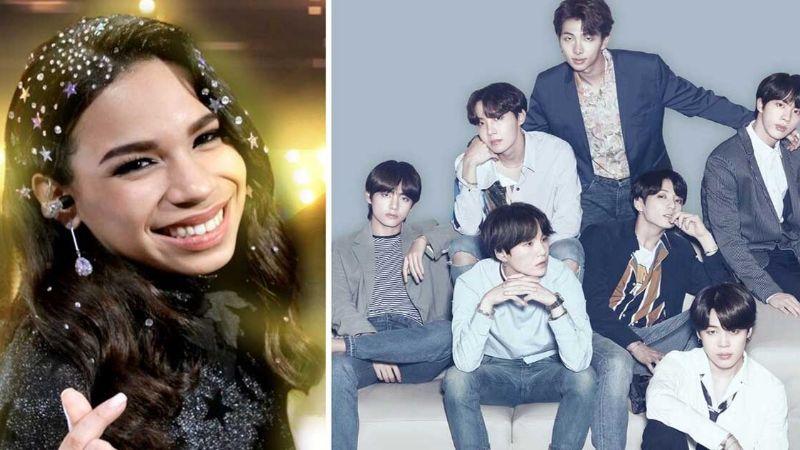 Fans de BTS 'destrozan' a Angie de 'La Academia' por un comentario