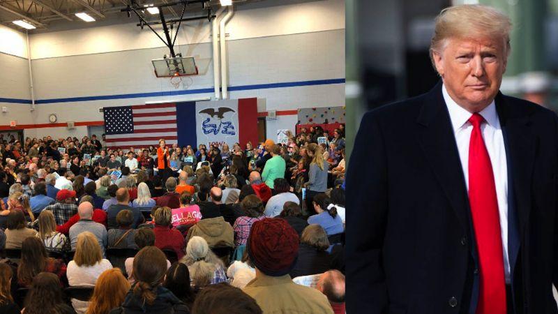Iowa intenta desbancar a Trump con un 'caucus', asamblea de acto colectivo