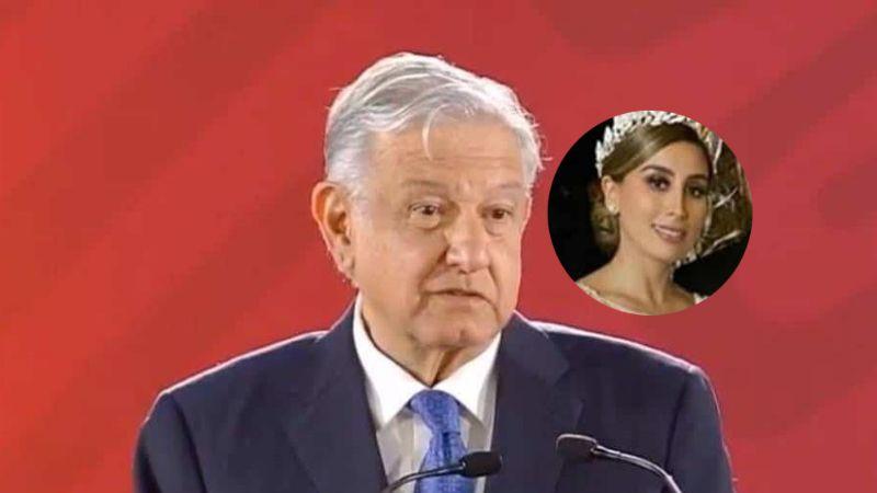 Así responde AMLO al ser cuestionado sobre la lujosa boda de la hija del 'Chapo'