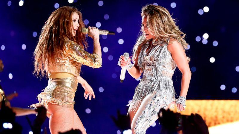El show de JLo y Shakira en el Super Bowl LIV rompe récord en EU