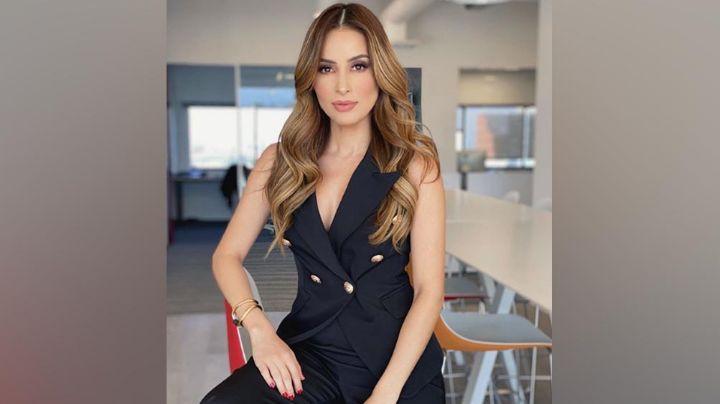 Desde TV Azteca, Cynthia Rodríguez impacta con dramático atuendo en 'Venga la Alegría'