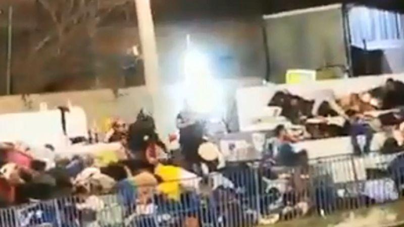 VIDEO: Grupo armado dispara contra el público en plaza de toros en Iguala
