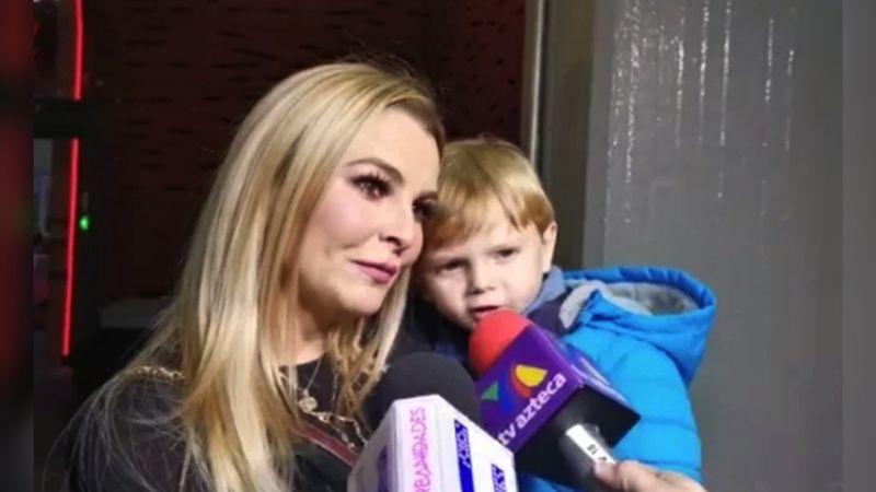 ¿Mala madre? Tunden a Marjorie de Sousa por no 'prestar atención' al hijo de Julián Gil
