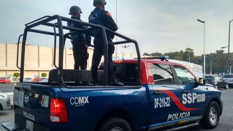 Custodio de valores recibe balazo por accidente de un compañero en CDMX