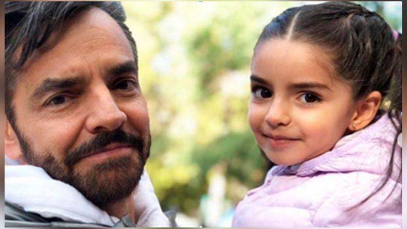 Aitana, la hija menor de Eugenio Derbez conmueve en redes con tierna travesura
