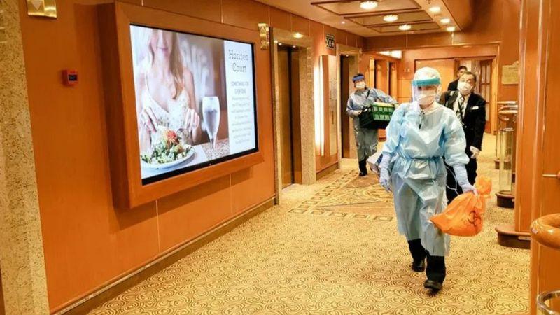 Coronavirus: Suman 61 contagiados en crucero Princess anclado en Japón