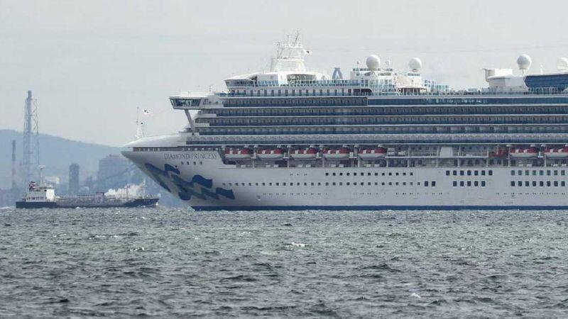 Coronavirus, imparable: Suman 64 infectados sobre crucero en Japón