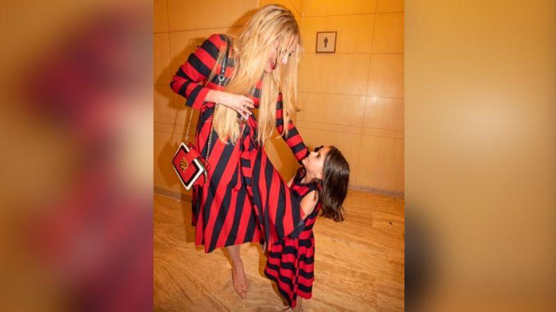 VIDEO: Con solo 5 años, hija de Tania Ruiz debuta como actriz en videoclip