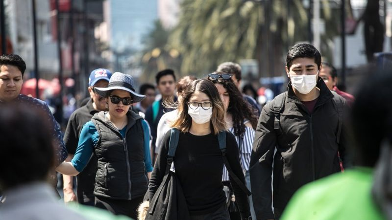 Coronavirus imparable: Hay 8 personas que podrían estar infectadas en México