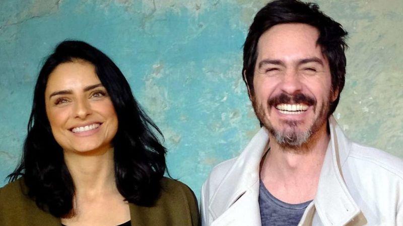 Aislinn Derbez calla rumor de divorcio y prueba que ella y Mauricio siguen juntos