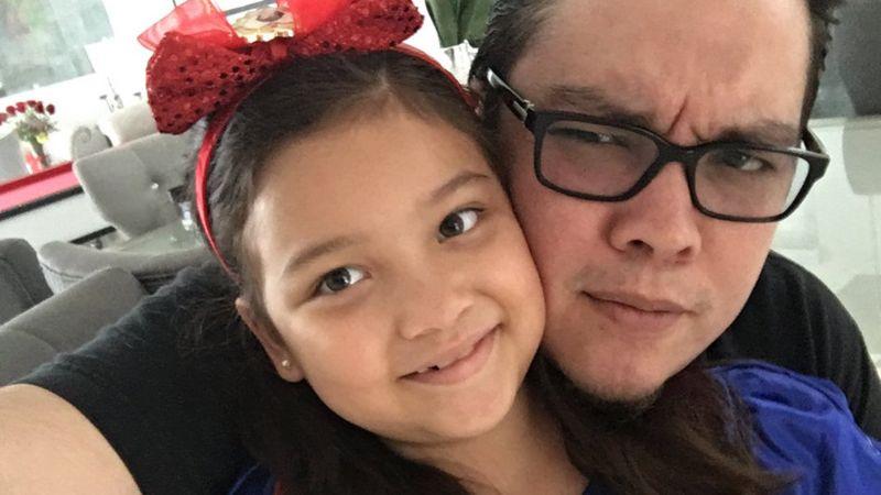 Hija de Franco Escamilla hace desatinar a su padre con una pregunta muy difícil