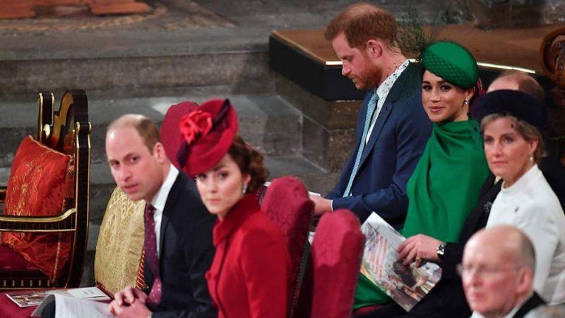El dulce gesto de Kate y William hacia Meghan y Harry que cautiva al mundo