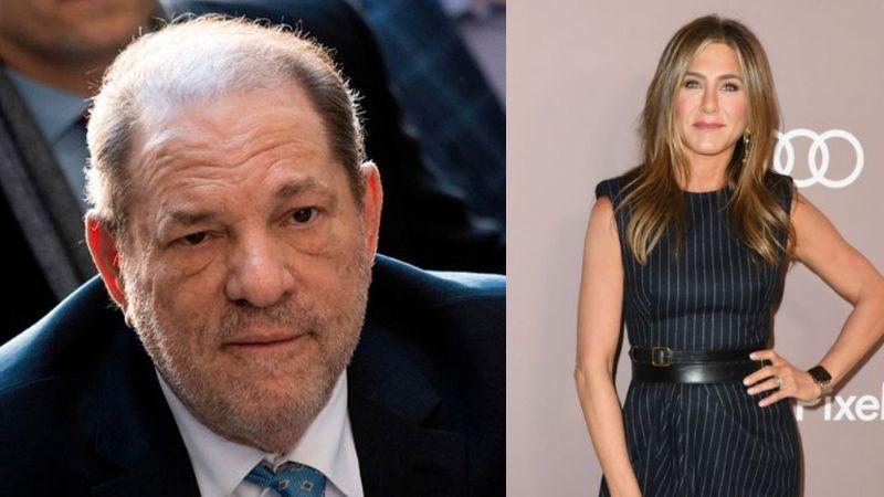 """""""Debe ser asesinada"""": El amenazador correo de Harvey sobre Jennifer Aniston"""