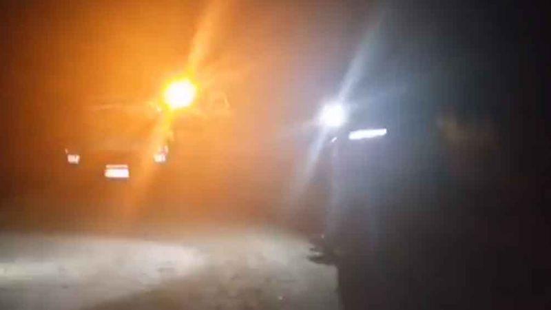 Conductor de camioneta se adentra a las aguas del Canal Alto