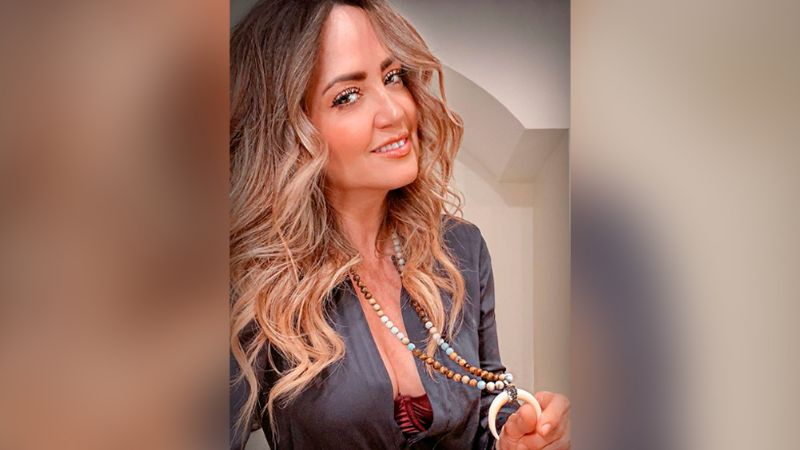 """El tremendo escote de Andrea Legarreta que hizo 'babear' a Erik Rubín: """"Delicia"""""""