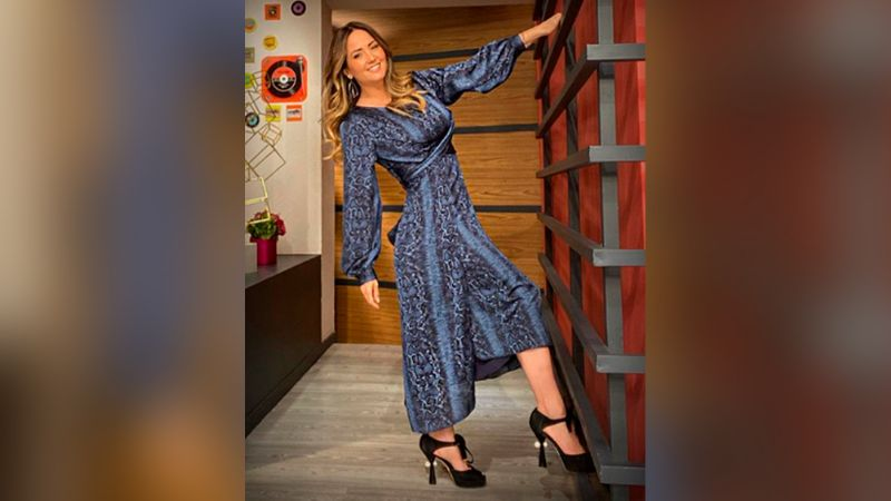 """""""No sabía que estabas tan rica"""": Andrea Legarreta impacta con sexy atuendo"""