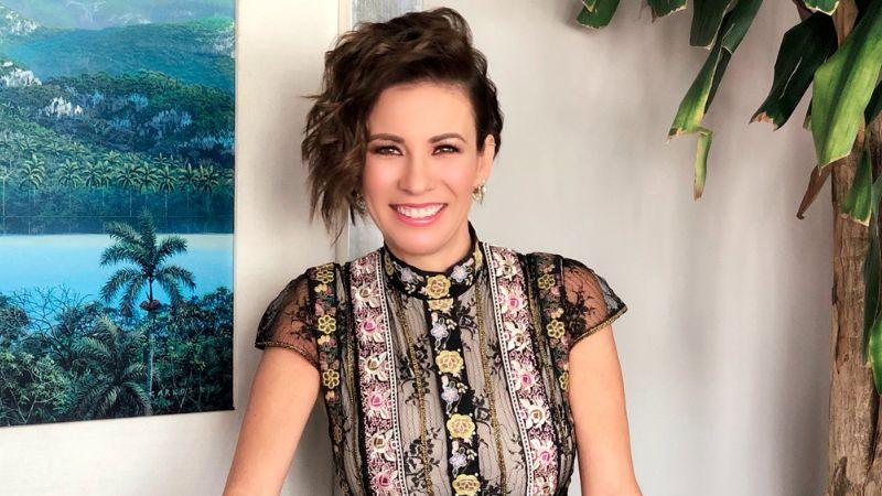 ¡Paren todo! Ingrid Coronado reaparece en TV Azteca y visita 'Ventaneando'
