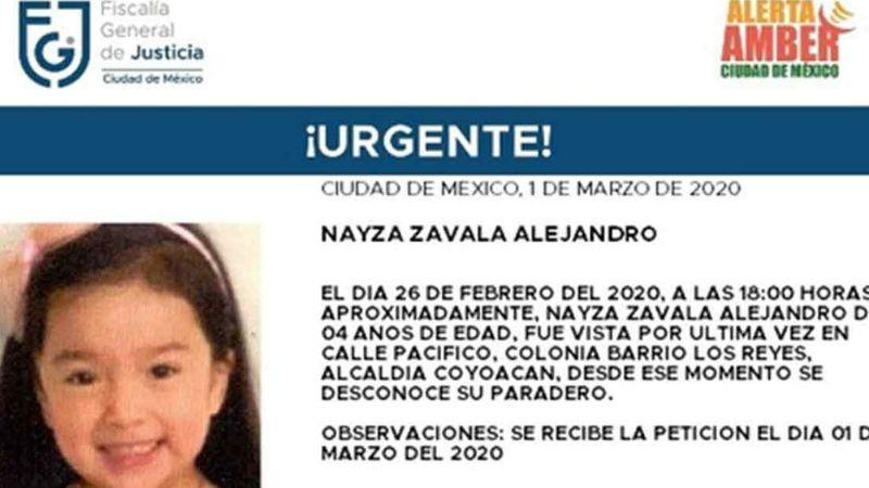 Ella es Nayza, la niña que desapareció con uniforme de karate en CDMX