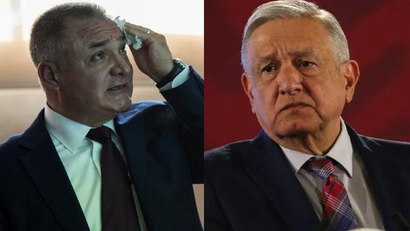 """AMLO sobre García Luna: """"No hagan juicios o cuestionamientos anticipados"""""""