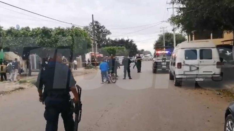Detonaciones alertan a vecinos del sur de Obregón; hay una persona sin vida