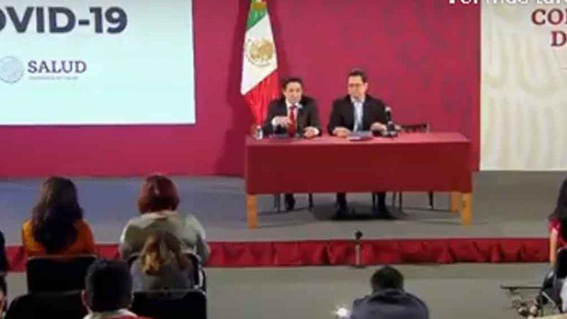 Conferencia de la situación actual del coronavirus en México