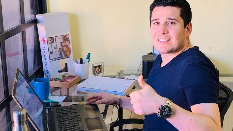 Sonorenses realizan home office en esta temporada de cuarentena por Covid-19