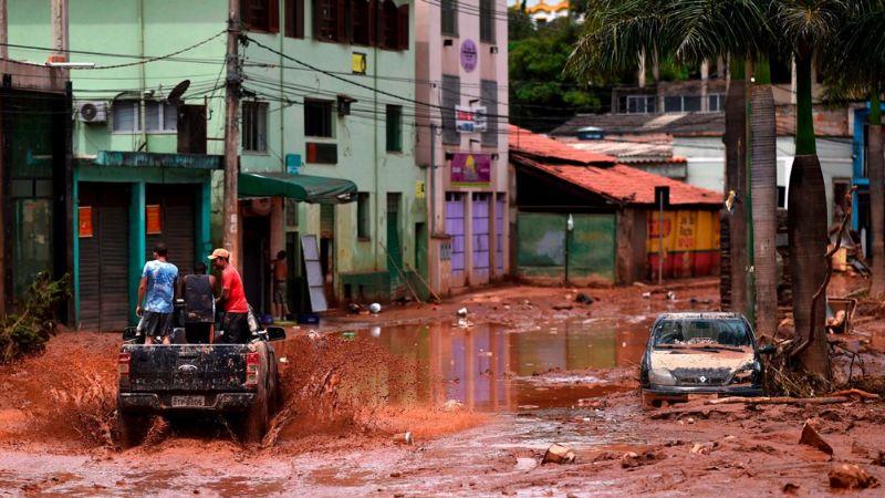Lluvias intensas dejan 16 muertos y 200 personas evacuadas en Brasil