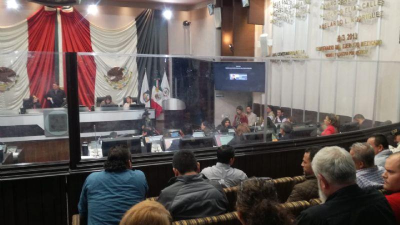 Diputados del PAN y Morena discuten segunda vuelta electoral en Sonora