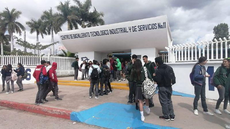 Por amenaza de atentado, suspenden clases en Cbtis 11 de Hermosillo