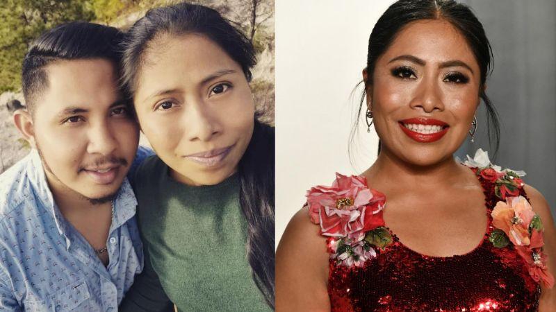 Tras rumor de infidelidad, novio de Yalitza Aparicio borra fotos de la actriz