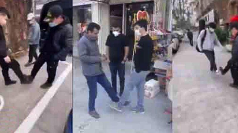 VIDEO: Las redes viralizan el 'Wuhan Shake', saludo contra el coronavirus
