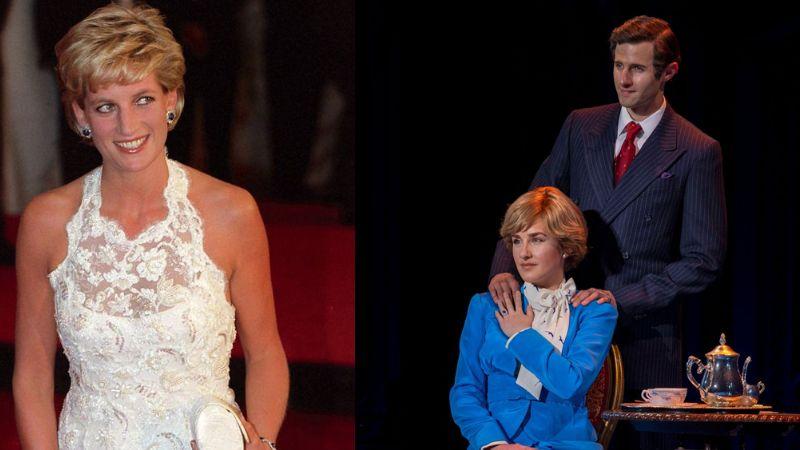 Revelan fotos de Jenna de Waal como Lady Di para musical de Broadway