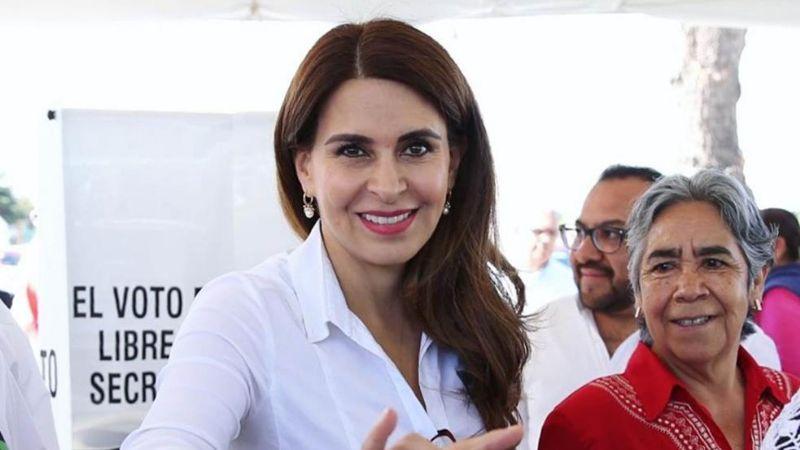 """Carolina Viggiano: """"El PRI dará su mejor versión a los ciudadanos"""""""