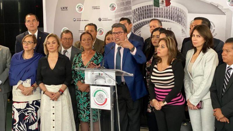 Ricardo Monreal ve irregularidades en denuncia de espionaje del PAN